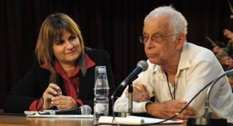 Magda Resik Aguirre y Norman Girvan