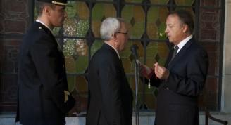En acto oficial, celebrado en el Museo Napoleónico de La Habana, el Doctor Eusebio Leal Spengler, Historiador de la Ciudad, fue investido con el grado de Comendador de la Orden Francesa de la Legión de Honor