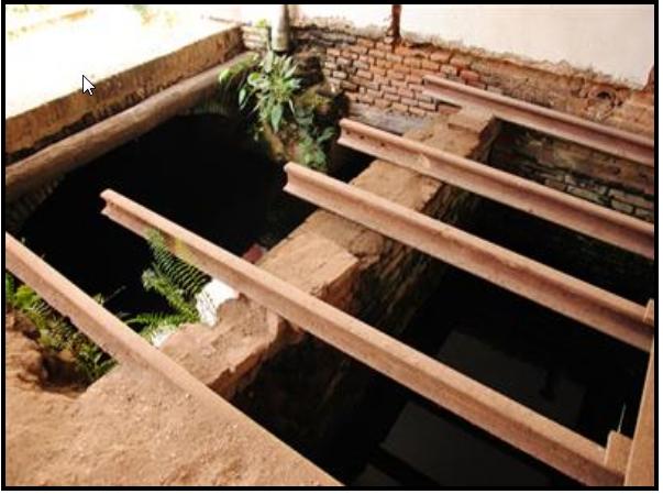 Túnel original de La Periquera