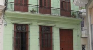 Edificio de la calle Cuarteles número 116, hoy