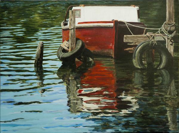 El sueño, 2012, acrílico sobre lienzo, 45x60cm