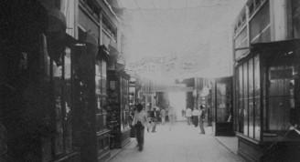 Manzana o Pasaje de Gómez, finales del siglo XIX
