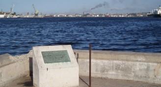 Tarja en La Habana en recuerdo de la gira mundial de Gueorgui Gueorguiev