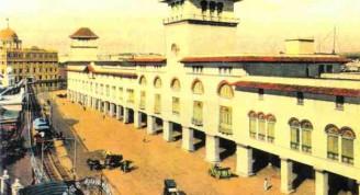 Nuevo edicio de la Aduana, 1914