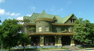 Casa de las tejas verdes