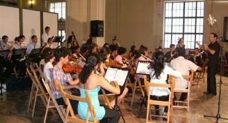 Orquesta mozarteum / Foto Alexis Rodríguez