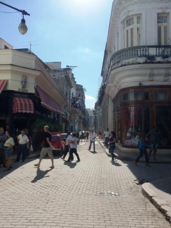 2-calle Compostela hoy desde Obispo