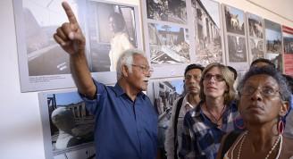 Exposición fotográfica demuestra recuperación de Santiago de Cuba / Foto Néstor Martí