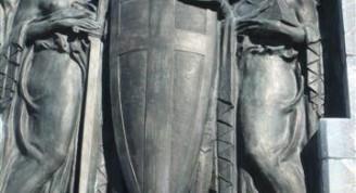 Capilla conde Rivero-detalle escultura