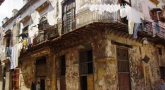 Casas coloniales en La Habana Vieja