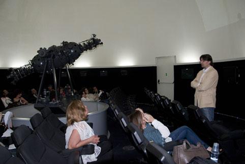 Conferencia de Francisco Sierra / Foto Alexis Rodríguez