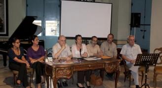 Conferencia de prensa / Fotos Alexis Rodríguez