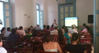 Conferencia impartida por los expertos Willan Masdeu y Ubiratan de Souza,