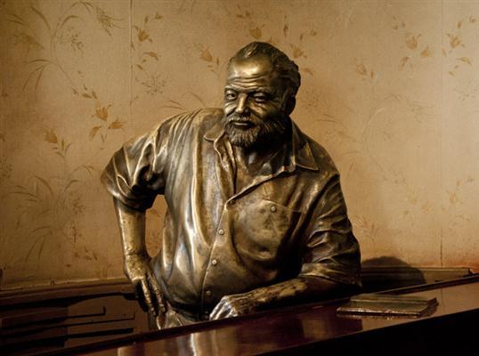 Ernest Hemingway / Fotos Alexis Rodríguez