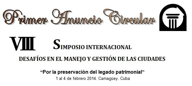 Simposio Internacional Desafíos en el Manejo y Gestión de las Ciudades