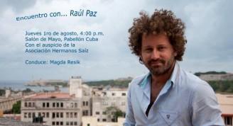 Encuentro con Raúl Paz Pabellón Cuba