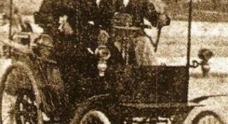 El primer carro en La Habana