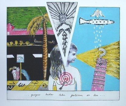 Obra de Sandra Ramos