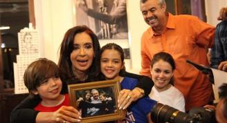 "La presidenta de Argentina comparte con ""La Colmenita"""