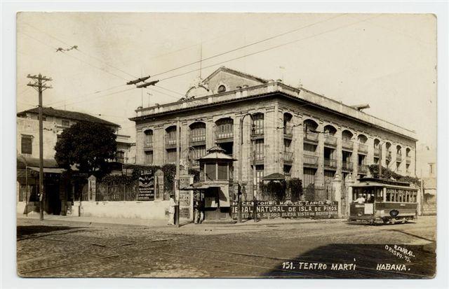 El teatro Martí en 1930
