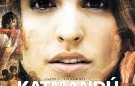 """Cartel promocional de """"Katmandú, un espejo en el cielo"""""""