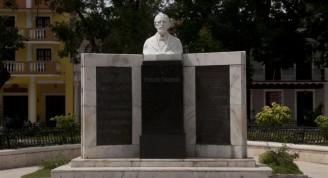 Efigie en homenaje a Perucho Figueredo