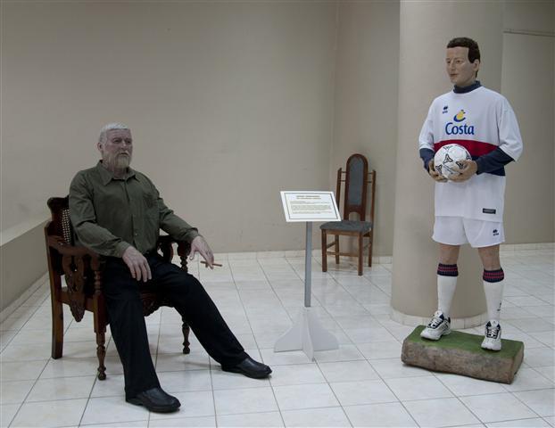 Ernest Hemingway y Fabio Di Celmo