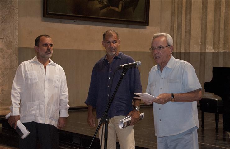 Presentación de Revista Opus Habana / Fotos: Alexis Rodríguez