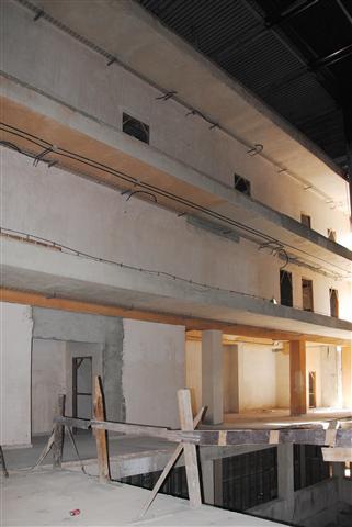 Estas imágenes corresponden a un primer período de la restauración del Teatro / Foto Alexis Rodríguez
