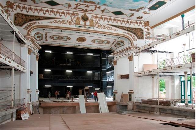 Teatro Martí de vuelta al esplendor de antaño / Foto Alexis Rodríguez