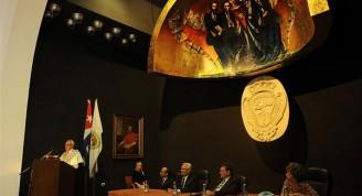 Acto que evocó la fecha fundacional de la primera universidad cubana (Custom)