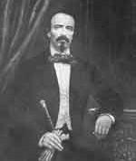 Carlos Manuel de Céspedes, primer presidente de la República de Cuba en Armas