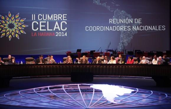 Inauguración de la Reunión de Coordinadores Nacionales de la CELAC. Foto: Ismael Francisco/ Cubadebate