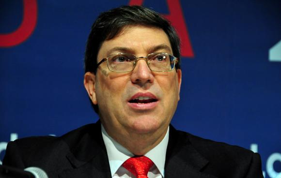Bruno Rodríguez Parrilla, Ministro de Relaciones Exteriores de Cuba, dió una cálida y cariñosa bienvenida a sus homólogos de las naciones miembros de la CELAC, reunidos hoy en La Habana