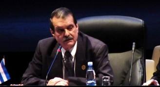 Abelardo Moreno, Coordinador Nacional de Cuba en CELAC . Foto: Abel Rojas Barallobre.