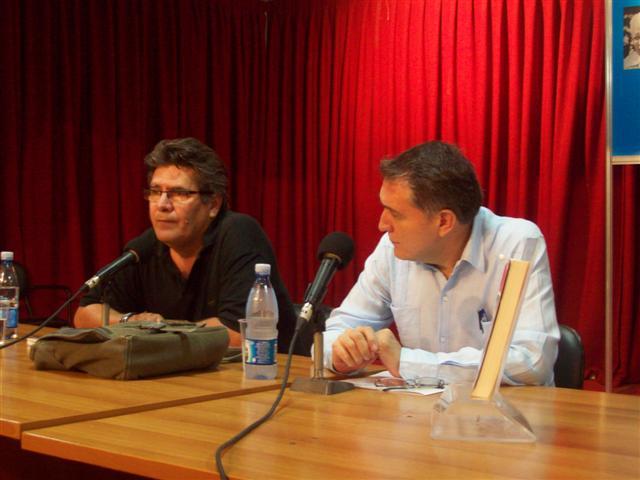 Rafael Acosta de Arriba, junto a Ernesto Sosa / Foto Maydelis Samón