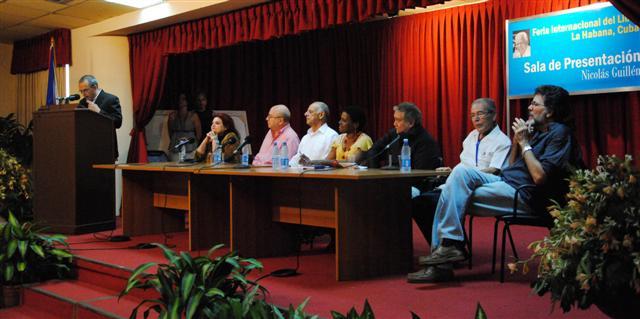 Clausura de la Feria del Libro 2014
