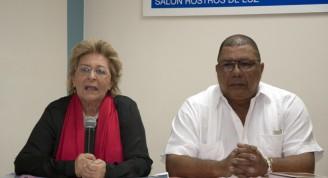 Socorro castellanos y Pedro Ureña