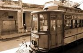 Tranvías en La Habana