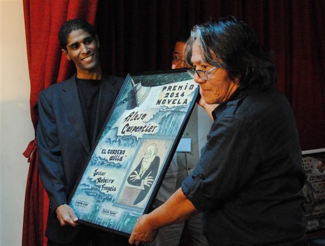 premio carpentier novela javier robeiro (Small)