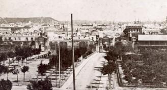 02Puertas de Monserrate, fotografía de mediados del siglo XIX (Custom)