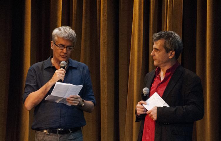 Serge Sándor, teatrista francés y director artístico del evento junto a Carlos Celdrán