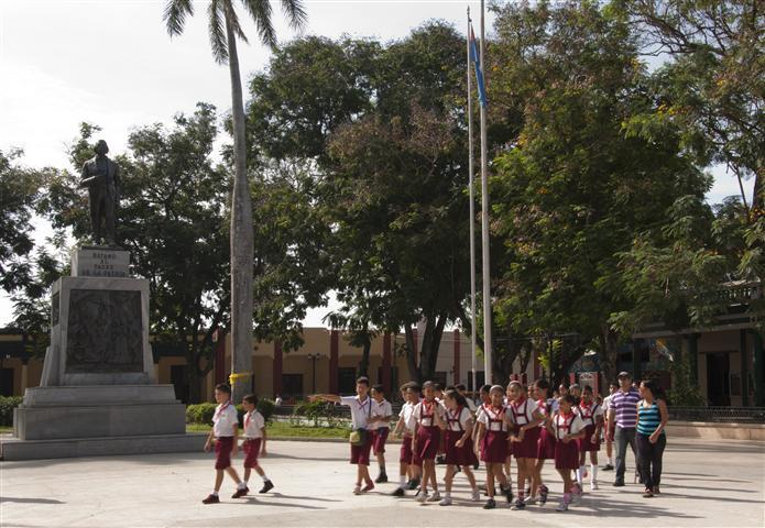 Monumento a Carlos Manuel de Céspedes en la ciudad de Bayamo Foto Alexis Rodríguez / Habana Radio