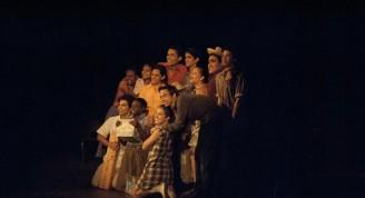 """Una selección de """"Cuentos de Guane"""", de la escritora pinareña Nersys Felipe, interpretada por los estudiantes de segundo años de la Escuela Nacional de Arte"""