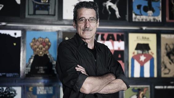 El director de cine, Fernando Pérez tuvo a su cargo la presentación de la revista.