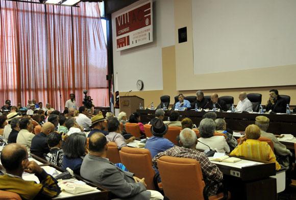 Inauguración del VIII Congreso de la UNEAC. Foto: Ladyrene Pérez/Cubadebate.