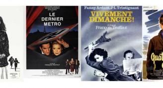 Afiches Homenaje a François Truffaut