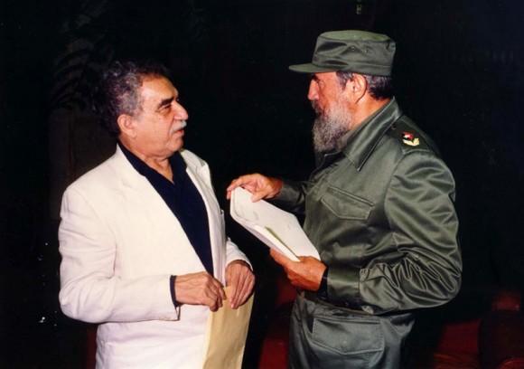 Fidel y García Márquez en La Habana