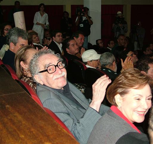 El Gabo en la Fundación del Nuevo Cine Latinoamericano / Foto Alexis Rodríguez - Habana Radio