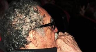 El Gabo en la Fundación del Nuevo Cine Latinoamericano, el 5 de diciembre de 2010 / Foto Alexis Rodríguez - Habana Radio